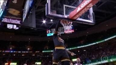 Cleveland Cavaliers estreia com vitória na temporada da NBA - Atuais campeões venceram o New York Knicks por 117 a 88.