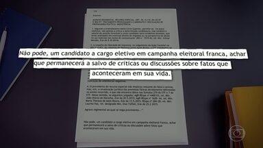 TRE-RJ rejeita pedidos de resposta de Marcelo Crivella contra TV Globo - TRE-RJ rejeita pedidos de resposta de Marcelo Crivella contra TV Globo.