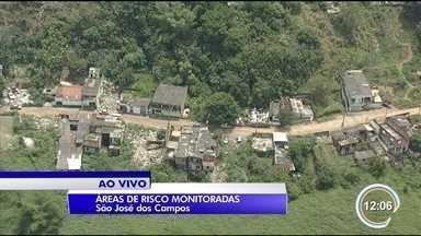 Áreas de risco estão sendo monitoradas - Chuva acumulada do mês deixa Defesa Civil em alerta.