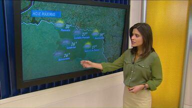 Previsão de ventania e chuvas fortes pra esta quarta-feira - O frio volta com intensidade na sexta-feira. Pode fazer 8 graus.