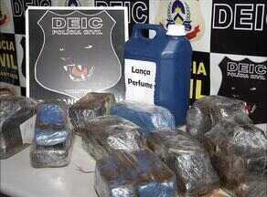 Adolescente é apreendida por transportar mais de 10kg de drogas em ônibus - Adolescente é apreendida por transportar mais de 10kg de drogas em ônibus