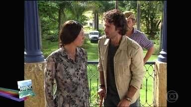 Confira o terceiro episódio do novelão Paraíso - Beata Mariana se empenha em afastar Santinha de Zeca