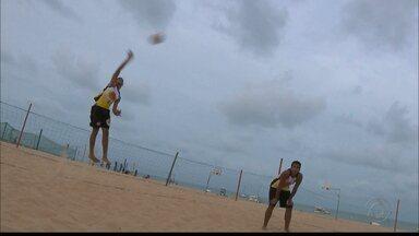 Rafael e Renato Andrew querem manter hegemonia da Paraíba no vôlei de praia sub-19 - Estado busca o sétimo título do Circuito Brasileiro da categoria