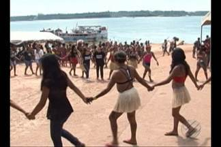 Indígenas protestam em diversas regiões do Pará contra o Governo Federal - Indígenas protestam em diversas regiões do Pará contra o Governo Federal