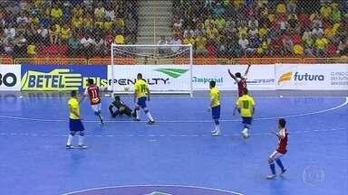 Paraguai faz 1 a 0 no Brasil pelo Desafio Internacional de Futsal - Rivais surpreendem e saem na frente em Sorocaba
