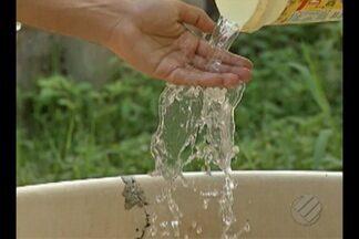 Moradores do bairro 40 Horas, em Ananindeua, sofrem com a falta de abastecimento de água - Em algumas comunidades, a situação é ainda mais grave: na maioria das casas a água não chega porque não existe rede de abastecimento.