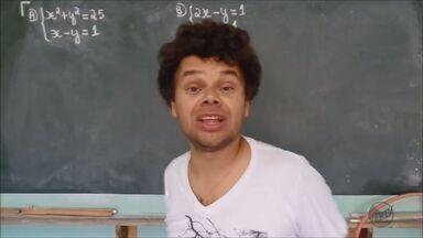 Professor de matemática de Três Corações (MG) faz sucesso com aulas na internet - Professor de matemática de Três Corações (MG) faz sucesso com aulas na internet