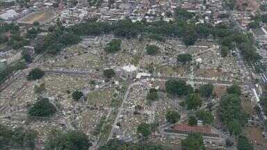 Visitantes lotam cemitários da cidade para viver saudade dos mortos - NETV 1ª Edição faz um giro pelos cemitérios do Grande Recife.