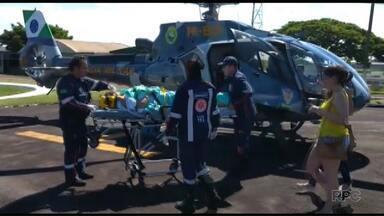 Seguem internados os feridos em acidente na região de Umuarama - 20 pessoas morreram no acidente.