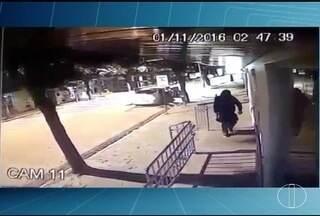 Homens encapuzados explodem agência bancária em Coroaci - Apesar dos danos pela explosão, PM afirma que não foi roubado dinheiro.