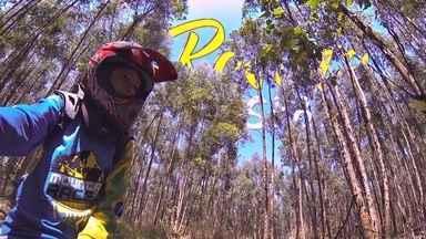 Adrenalina em duas rodas - Em Itupeva um pessoal bem radical desce as ladeiras de bicicleta a toda velocidade. É o downhill! O Revista embarca nessa aventura e você vai junto, assista: