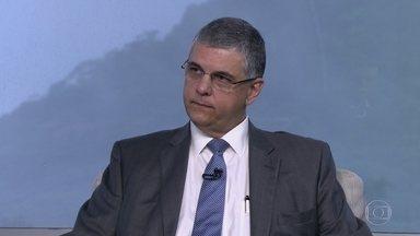 Secretário estadual de Fazenda fala sobre medidas de austeridade - Gustavo Barbosa explica a cobrança de alíquotas extras da Previdência. O secretário ressalta que as medidas de austeridade foram tomadas por extrema dificuldade financeira.