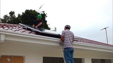 Empresário cria sistema de energia solar de baixo custo - A empresa sustentável tem um modelo mais acessível: a energia solar por assinatura.