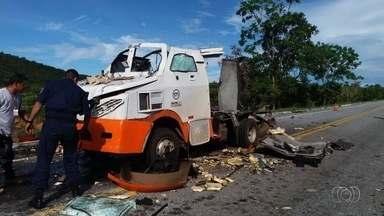 Preso um dos suspeitos de explodir carro-forte em Goiás - Outros quatro criminosos estão foragidos.