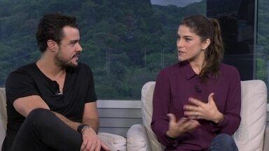 """Entrevista com Priscila Fantin e Joaquim Lopes - Os atores falam sobre a peça """"Porque Fui Embora..."""", em cartaz no Teatro Clara Nunes, na Gávra"""