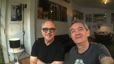 Serginho Groisman entrevista o fotógrafo Bob Wolfenson - Profissional fala de seus trabalhos com celebridades