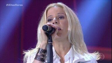 Paula Toller canta 'Nada Sei' - Confira!
