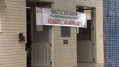 Servidores do Hospital Risoleta Neves, em BH, entram em greve - Médicos e funcionários cobram melhores condições de trabalho.