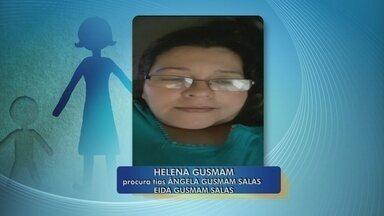 Mulher procura por tias que vieram morar em Rondônia - Helena Gusmam procura por Ângela e Eida Gusmam Salas.