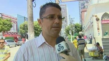 Confira a movimentação em lojas no Centro de Manaus - Lojistas esperam melhorar as vendas neste final de ano.