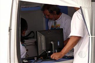 Unidade móvel da Sabesp negocia dívidas em Itaquaquecetuba - Consumidores podem renegociar contras atrasadas. Clientes de todas as cidades da região podem ir até a unidade móvel em busca de descontos.