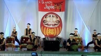 Tradicional festa da cultura japonesa começa em Dourados - Tradicional festa da cultura japonesa começa em Dourados