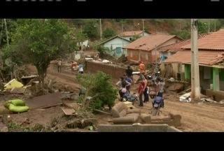 Identificado o quarto corpo achado em Nicolândia, distrito de Resplendor - Município foi atingido por forte chuva na última sexta-feira (18).