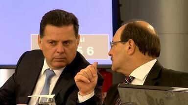 Governador Sartori está em Brasília para encontro com Temer - Temer recebe governadores para discutir saída para a crise nos estados