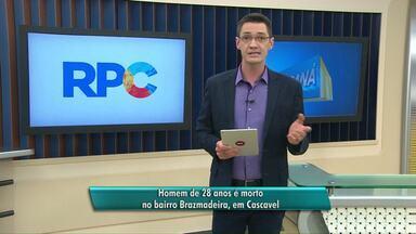 Homem de 28 anos é morto no bairro Brazmadeira, em Cascavel - Homicídio foi no bairro brazmadeira.