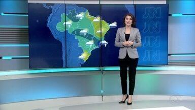 Veja a previsão do tempo para quarta-feira (23) no Brasil - Previsão de chuva para quase todo o Brasil nesta quarta-feira (23).