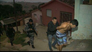 Dez pessoas presas na Paraíba acusados de tráfico, roubo e formação de quadrilha - As prisões foram nas cidades de Solânea e Serraria.