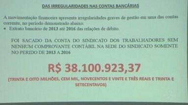 Junta Provisória aponta irregularidades em contas do Sindicato dos Metalúrgicos do AM - Comissão interventora apresentou novos indícios de irregularidades na entidade, nesta terça-feira (22).