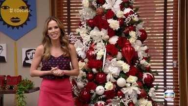 Ana Furtado mostra a árvore de Natal do 'É de Casa' - Participe e mande fotos da sua árvore para o programa!