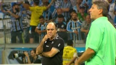 A final da Copa do Brasil vista pelo olhar dos técnicos Marcelo Oliveira e Renato - Repórter Régis Rösing acompanhou a movimentação dos técnicos no Mineirão. Grêmio bateu Galo por 3 a 1