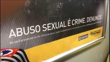 Aumenta o número de denúncias de casos de assédio sexual no Metrô e na CPTM - Um levantamento mostra que este ano houve aumento de (26%) nos casos de assédio sexual nos trens. Foram registradas 141 ocorrências em 2016 contra 112 em 2015.