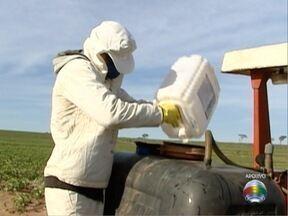 Arpev recolhe embalagens de agrotóxicos em Pres. Prudente - Ação ocorre nesta segunda (28) e terça-feira (29).