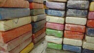 Apreensão de 240kg de droga acontece no Porto de Santos - Ninguém foi preso.