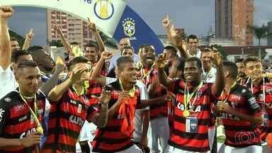 Atlético-GO vence o Bahia de virada no jogo da taça - Dragão ganha por 2 a 1 e faz a festa no Estádio Olímpico