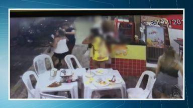 Assista ao primeiro bloco do CETV desta segunda-feira (28) - Jornal mostra o andamento das investigações sobre homem que agrediu ex-namorada no interior do Ceará
