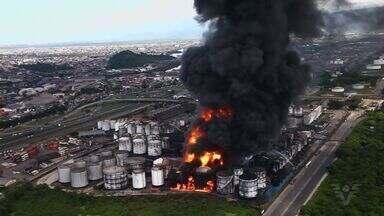 Relatório sobre impactos ambientais do incêndio da Ultracargo será divulgado nesta terça - A partir desse documento, MP determinará qual a compensação que a empresa deverá cumprir por causa do acidente.