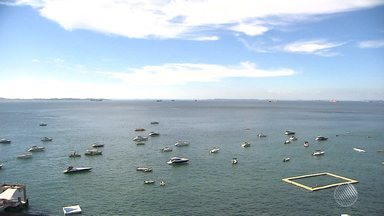Salvador tem começo de semana com sol e calor - Alto índice de radiação ultravioleta exige mais cuidado dos soteropolitanos.