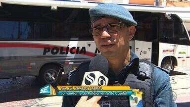 Polícia Militar iniciou nesta segunda-feira (28) a operação 'Comércio Seguro' - Polícia Militar iniciou nesta segunda-feira (28) a operação 'Comércio Seguro'.
