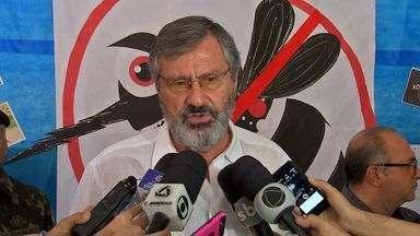 Ministro da Transparência vem a Cuiabá e pede união de todos no combate ao mosquito - Ministro da Transparência vem a Cuiabá e pede união de todos no combate ao mosquito