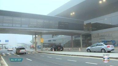 Aeroporto Internacional de Belo Horizonte inaugura terminal em Confins - A inauguração eleva a capacidade do aeroporto para 22 milhões de passageiros.