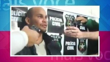 Ana Maria faz alerta sobre perigos nas redes sociais - Apresentadora mostra entrevista de sequestrador que conta como conseguiu facilmente informações sobre a família que atacou