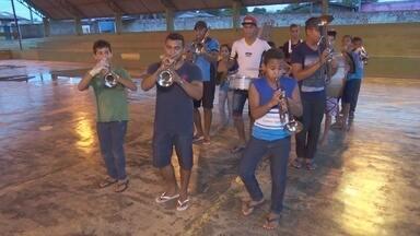 Fanfarra de Ariquemes vence concurso nacional - Grupo disputou com mais de sessenta equipes.
