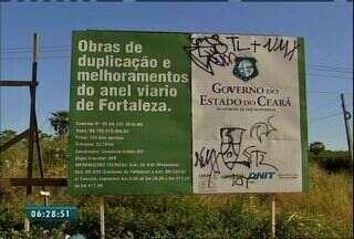 Confira o Segundo Bloco do Bom Dia Ceará desta terça-feira (6) - Obras no Anel Viário seguem paralisadas.