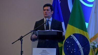 Juiz Sérgio Moro participa de evento em Cuiabá - Juiz Sérgio Moro participa de evento em Cuiabá.