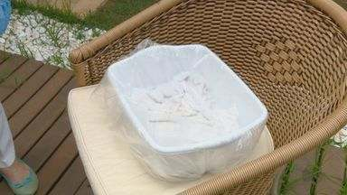 'Casa Prática' dá dicas de como tirar manchas de panos de prato - Sugestões também podem ser aplicadas em toalhas e guardanapos.