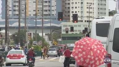 Semáforos de Florianópolis estão sem funcionamento; comandante da GM fala sobre ações - Semáforos de Florianópolis estão sem funcionamento; comandante da GM fala sobre ações